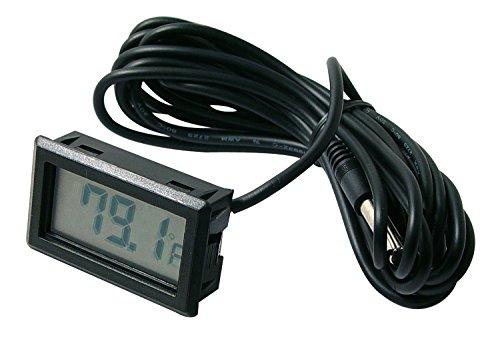 - Beulerⓡ brand Digital temperature meter with remote temp sensor