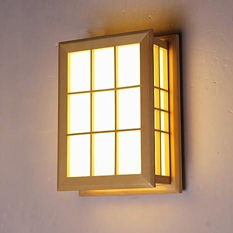 Balcón creativo nueva muralla China Lámpara LED pasillo luces lámpara pared escaleras sala balcón dormitorio lámpara de cabecera pared lámpara 22 * 1 * 30 ...
