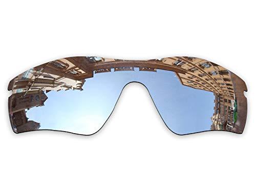 Vonxyz Lenses Replacement for Oakley Radar Path Sunglass - Chrome MirrorCoat ()