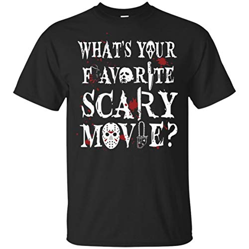 What's Your Favorite Scary Movie Michael Myers Jason-Voorhees Freddy Krueger Unisex T-Shirt Black
