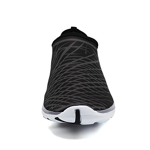 CIOR Sport Aqua Sneakers on Slip V Shoes Quick Drying For Athletic Fantiny Womens Casual black Mesh Men Water POrqHPn