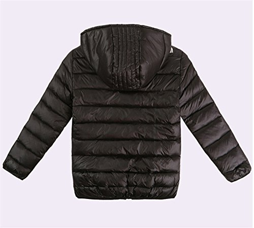 Boys Hooded Kids Lemonkids® Black Down Chic Coat Lightwear Winter Jacket Outwear dIBR5qw