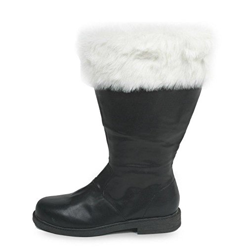 Pleaser Tall Santa Claus Boots Costume Accessory - Large