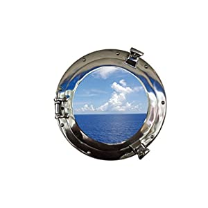 419hGjBQ8bL._SS300_ 100+ Porthole Themed Mirrors For Nautical Homes For 2020