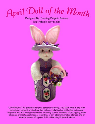 April Doll of the Month: Plastic Canvas Pattern