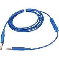 Alitutumao Replacement Cable Remote Audio Cable With Mic for Bose Soundtrue / Soundlink On Ear QC25 OE2 Headphones