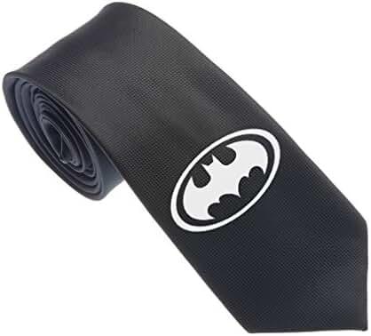 Uyoung Cool Batman Symbol Black Men's Woven 2.5