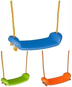Pilsan Columpio Infantil, Columpio de jardín 06116 con Cuerdas, Desde 4 años hasta 35 kg, Color:Anaranjado: Amazon.es: Juguetes y juegos