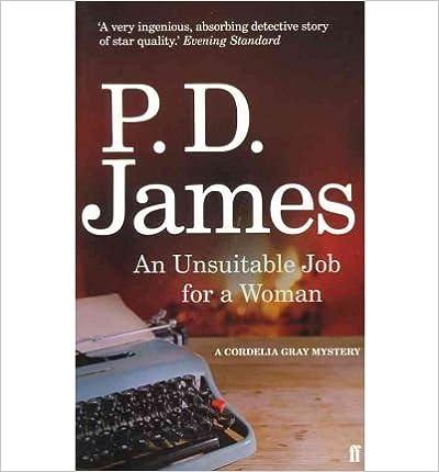 An Unsuitable Job For A Woman Pdf