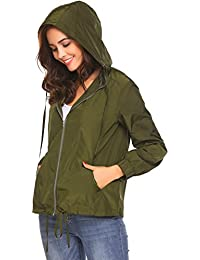 Women's Lightweight Jackets for Women Waterproof...