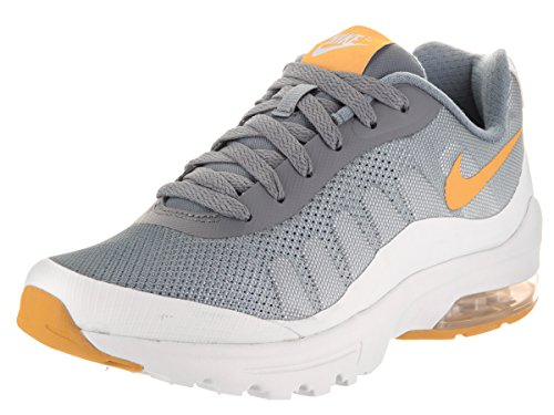 Nike W Air Max Invigor Print, Scarpe Running Donna Multicolore (Cool Grau/Gold Dart Orange/Pure Platinum Grau/Weiß)
