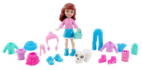 Polly Pocket Totally Trendy Pets Lila's Frosty Fur-riends (Polly Pocket Fashion Bag)