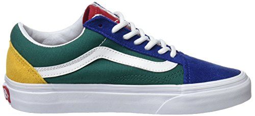 Multicolore Old Yacht Unisex Vans Skool – Adulto Club Sneaker Blue Vans FwdHY