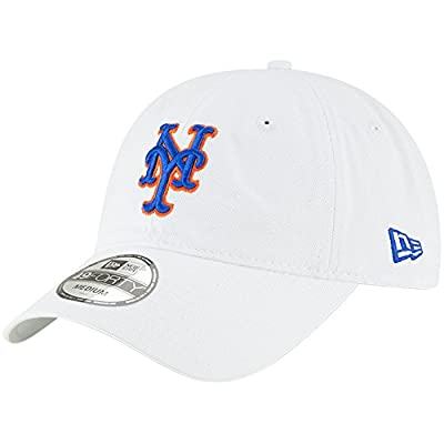 New York Mets New Era Core 49FORTY Fitted Hat White