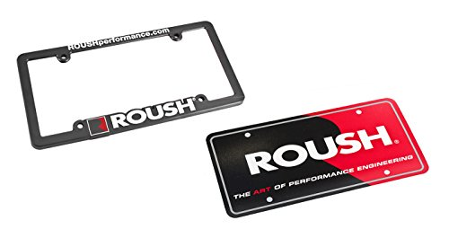 ROUSH Performance Mustang & F-150 License Plate & Frame