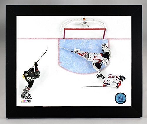 - Framed Washington Capitals Goalie Braden Holtby Makes