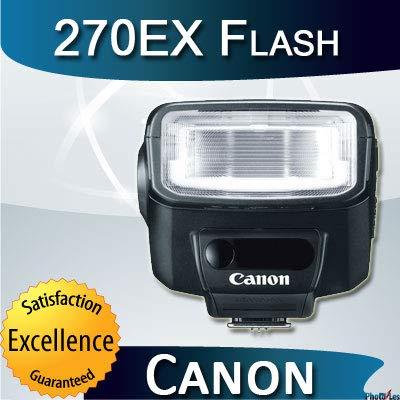Canon 270EX II  Speedlite Flash for Canon SLR Cameras (Black) by Canon