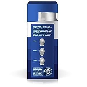 Men's Rogaine Hair Loss & Hair Thinning Treatment Minoxidil Foam, Three Month Supply