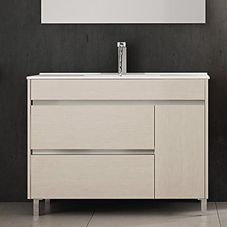 Ducha.es Conjunto 2 Piezas HÉMERA-Mueble de baño y encimera ...