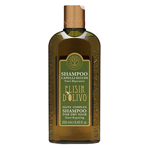 Erbario Toscano Elisir D Olivo Olive Complex Shampoo for Dry Hair 250ml/8.45oz - Shampoo Oliva Olive Oil