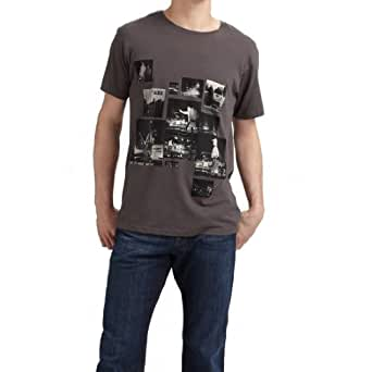 Marc by Marc Jacobs Mens Trouble Print T-shirt - Black Multi - Small