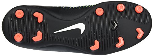 Nike Jungen 831952-013 Fußballschuhe Schwarz (Black/Wht-Elctrc GRN-Prmnt Bl)