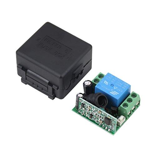 O'plaza ®Dc 12V 10A Relay RF Wireless Remote Control