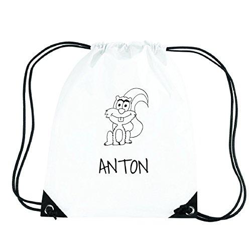 JOllipets ANTON Turnbeutel Sport Tasche PGYM5154 Design: Eichhörnchen ARw6QXf