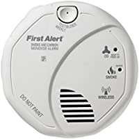 First Alert Battery-Operated Carbon Monoxide Detector and Smoke Detector