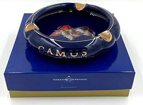 (H&H Illustrious Collection - Camus - Napoleon Navy Blue Cigar Ashtray)