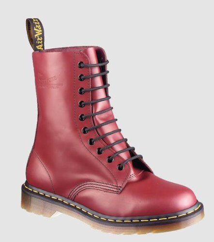 Dr. Martens 1490 Boot,Cherry Red Smooth,7 UK/M 8 - W 9 M US
