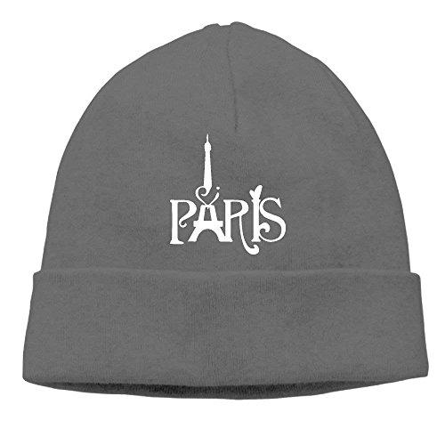 NDJHEH Tower Eiffel béisbol Pink French Beanie Hat Gorras Warm For Knit Tower Eiffel Hat Winter Pink Paris Men Thick Warm French Cap Winter Paris Soft XrrC4wqY