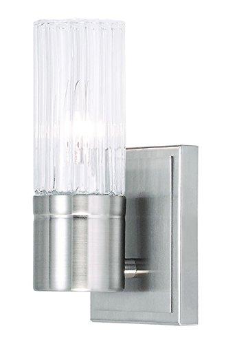 livex lighting 50681––91–Midtown pared, níquel cepillado