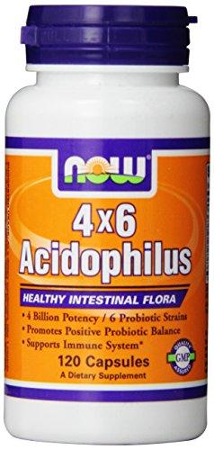 NOW Foods Acidophilus, 120 Capsules
