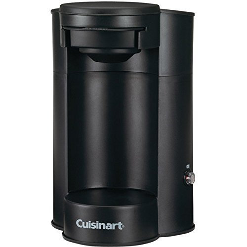 Coffeemaker, 1 Cup, Black, 450 Watts