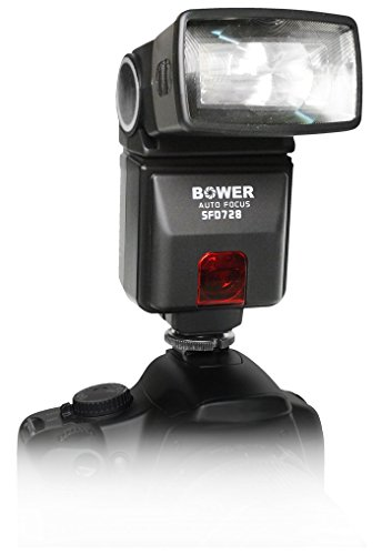 Bower SFD728S Digital Autofocus Flash for Sony A100/200/230/290/300/330/350/380/390/450/500/560/550/700/850/900 Digital SLR Cameras