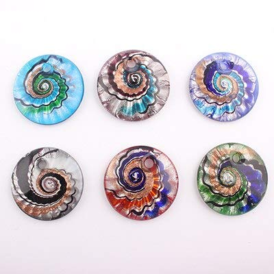 2016 New Unique Lampwork Art Glaze Glass Pendants Fit for Necklace Girl Gift Charms Jewelry Making C318