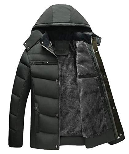 Padded Coats Men Gocgt Cotton Jacket Parka Hooded Outerwears 1 wp7HPqHOn