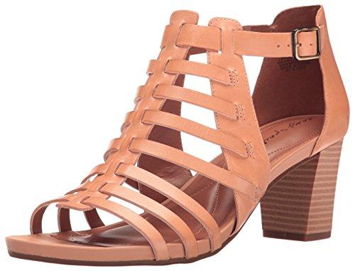 Easy Spirit Women's Leotie Dress Sandal, Natural Leather, ...