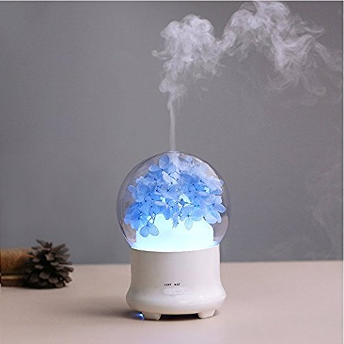 Hengnuo Humidifier Essential oil diffuser Aroma diffuser Diffuseur huile essentiel Oil Diffuser With LED Floor Lamp capacity 100ml Fit Living Room, Bar, Air Condition Room, Car