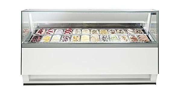 Isa helado vitrina Diva RV 140 - 2166: Amazon.es: Industria ...
