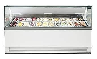 Isa helado vitrina Diva RV 140 – 1671 EXC: Amazon.es: Industria ...