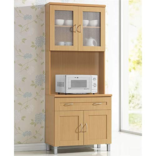 Pemberly Row Kitchen Cabinet in Beech