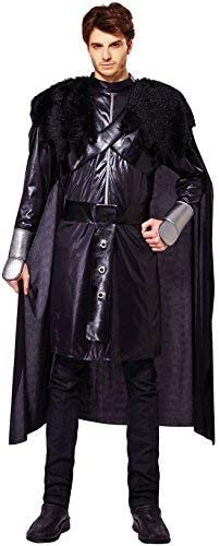 MEDIEVAL PRINCE FANCY DRESS COSTUME GAME OF THRONES STYLE MEN/'S ADULT TUNIC CAPE