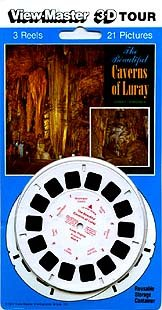 Caverns of Luray, Luray, Virginia - ViewMaster 3 Reel Set