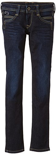 Pepe Jeans SATURN - vaqueros Niñas Blau (Denim 11oz Deep Dk Blue Used J70)