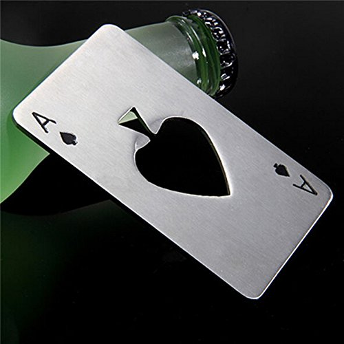 Poker Playing Card Bottle Opener