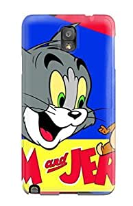 Fashion Tpu Case For Galaxy Note 3- Tom And Jerry Tom Amp; Jerry Defender Case Cover