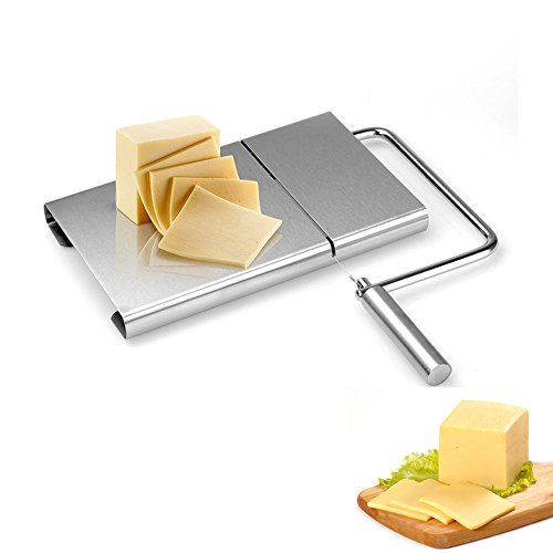 ALPHELIGANCE Home Kitchen Multi-fuctional Stainless Steel Cheese Butter Slicer Cutting Board Baking Tool