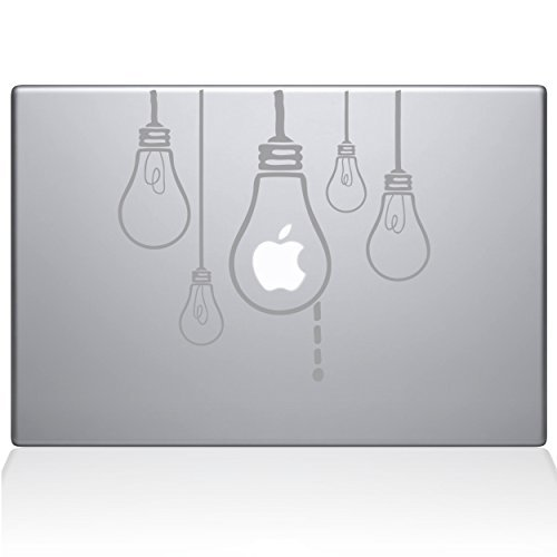 新着商品 The Macbook Decal Guru - Idea Bulbs Light Bulbs Macbook Decal Vinyl Sticker - 15 Macbook Pro (2016 & newer) - Silver (0190-MAC-15X-S) [並行輸入品] B0788G5SYC, 西谷商店:76b4b767 --- a0267596.xsph.ru
